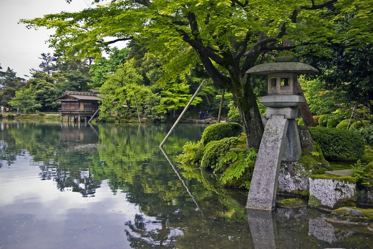 Kenrokuen Garden, Kanazawa, Japan  Beautiful World  Pinterest