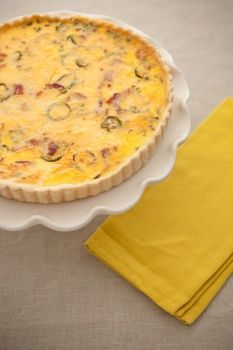 Jalapeno Popper Quiche, why do so many of my repins have jalapenos in ...