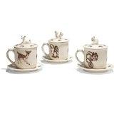 woodland tea cups