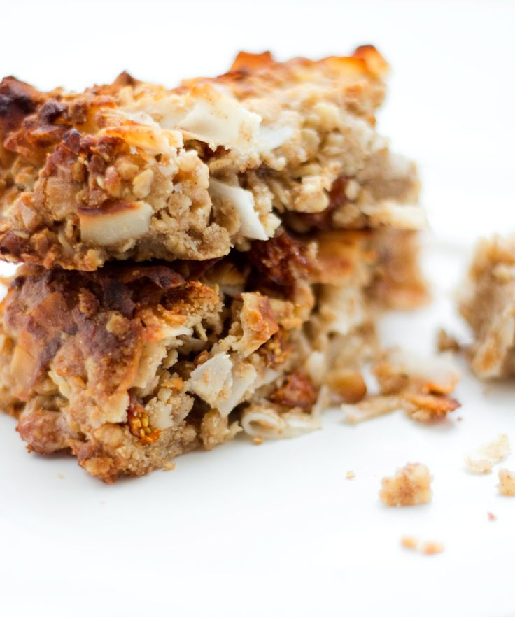 Almond Coconut Granola Bars | Oats and Granola | Pinterest