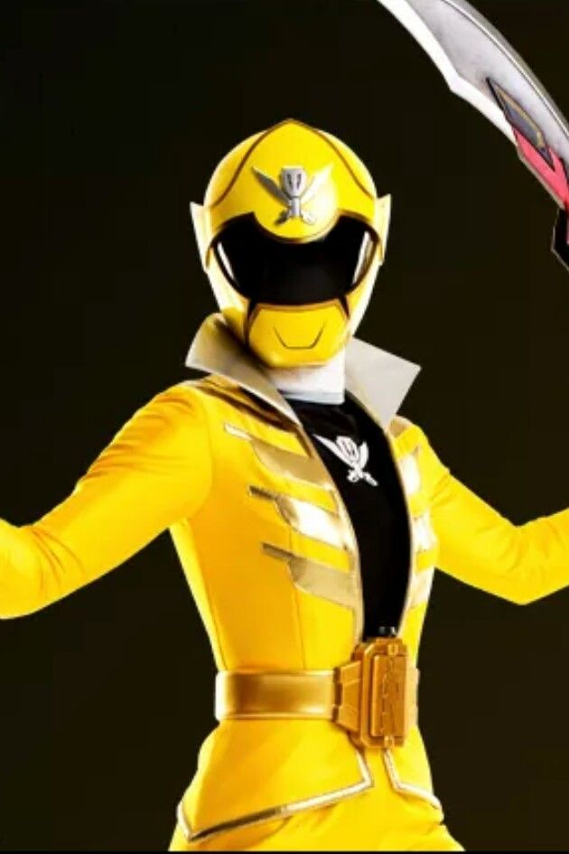 yellow power ranger megaforce - photo #1