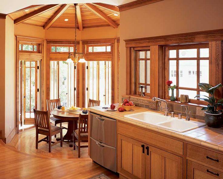Craftsman Style Kitchen Fave Pinterest