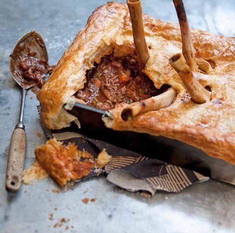 Lamb Shank Pie | SAVOUR | Pinterest