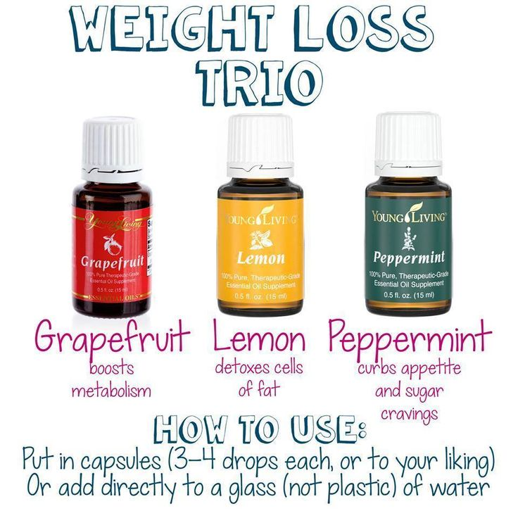 Young Living Essential Oils: Grapefruit Lemon Peppermint for Weight Loss