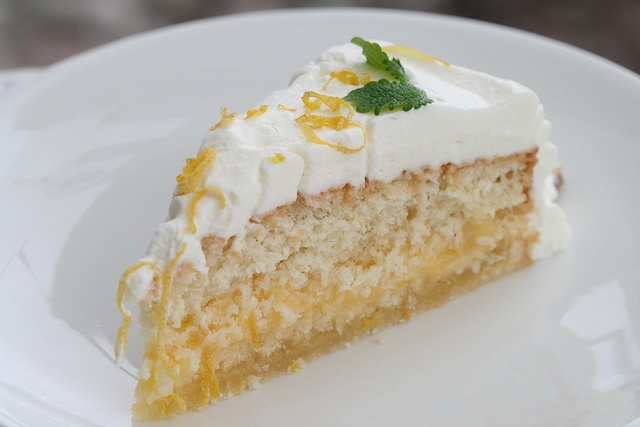 Spring Cake with Lemon Curd, Coconut and Elderflower - just click on ...