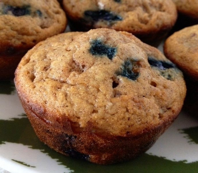 Coconut Flour Blueberry Muffins | Things that make me hungry | Pinter ...