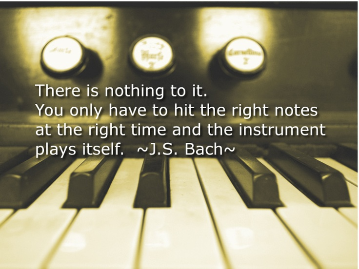Bach Quotes About Music