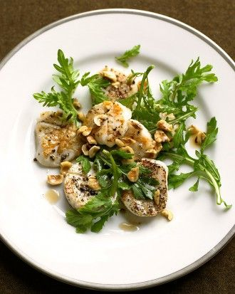Scallops with Hazelnut Brown Butter | Seafood favourites | Pinterest