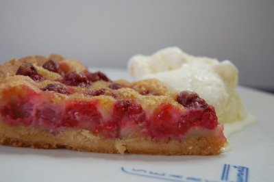 Brown Butter Raspberry Tart | Sweet Tooth | Pinterest