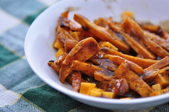 Vegetarian Sweet Potato Poutine | Good Eats | Pinterest
