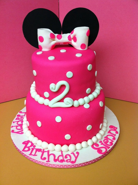 Minnie Mouse 2nd Birthday Cake Ideas 10820 Minnie Mouse 2n