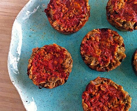 Mini Vegetarian Meatloaves | Recipe