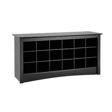 Entryway Shoe Storage Cubbie Bench  For the Home  Pinterest