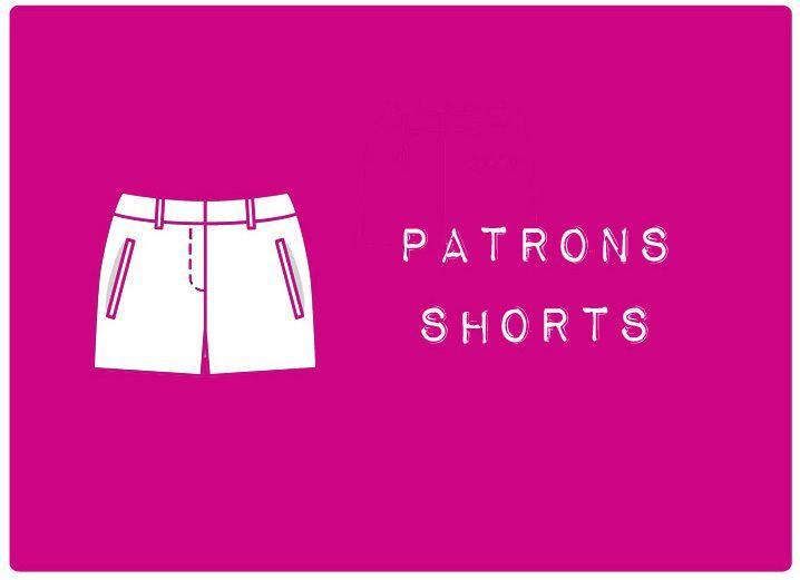 patron couture gratuit mini short femme