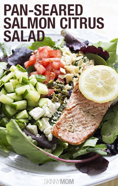 Pan-Seared Salmon Citrus Salad | Recipe