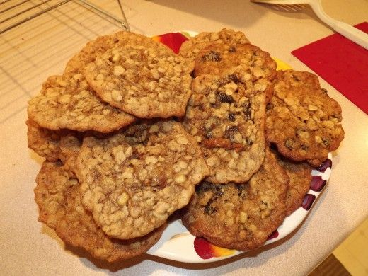 Peanut Butter and Apple Oatmeal Cookies: This was the winner ...