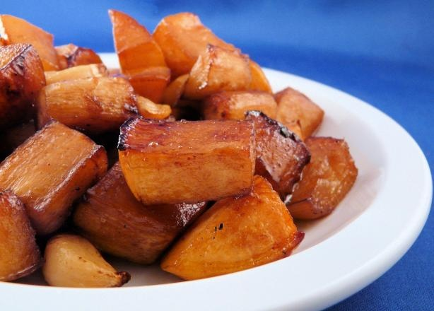 Balsamic Glazed Roast Vegetables from Food.com: Here's a great way to ...