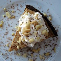 "Peanut Butter ""Ice Cream"" Pie with Chocolate Cookie Crumb Crust ..."