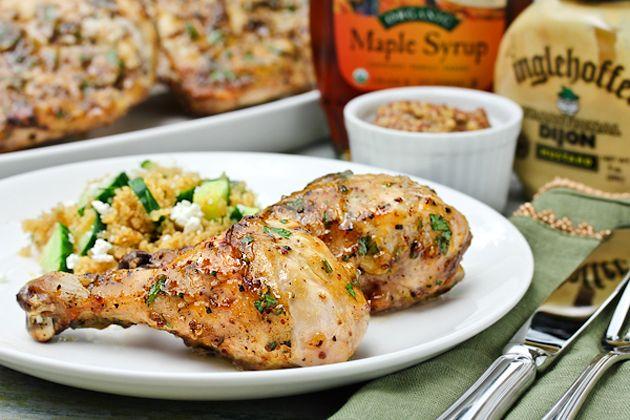 Mustard Maple Chicken | Nom Nom Nom ... Food and Drink I'd enjoy | Pi ...
