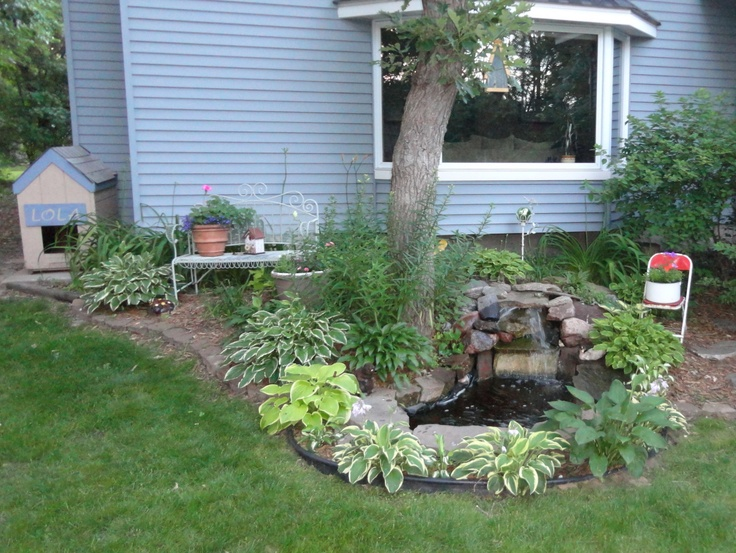 Diy water features for backyard various Home made water feature