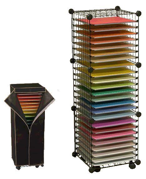 paper storage shelves