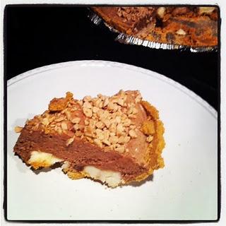 Nutella Ice Box Pie | Dangerous Desserts | Pinterest