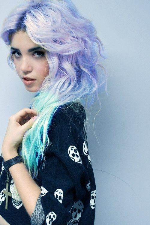 unique hair color ideas kayties fashion board pinterest