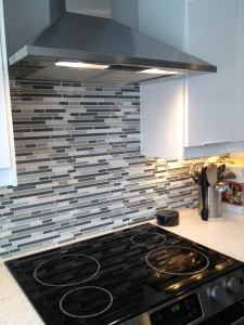 Backsplash tile from Home Depot Tile