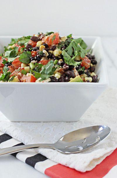 Southwestern Black Bean Salad | Recipe