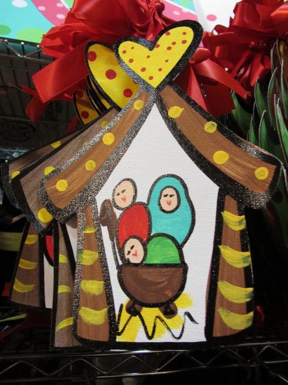 nativity ornament - lots of cute ornaments!