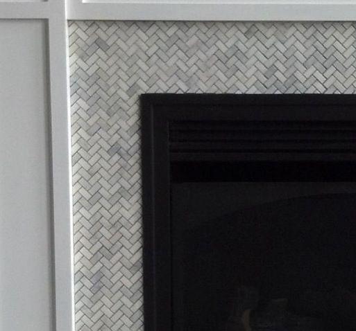 Herringbone Fireplace Ideas For The Home Pinterest