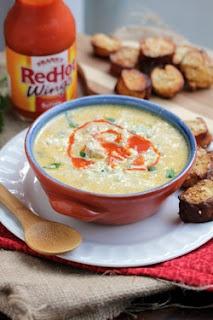 buffalo chicken soup...yum!