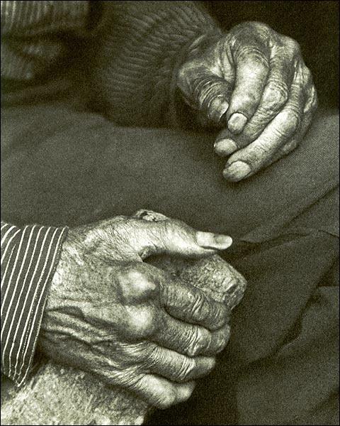 Fotografia manos envejecidas