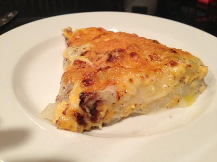 Turnip Au Gratin (WF) | Inner Fatty | Pinterest