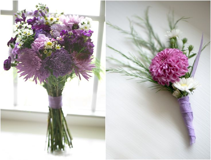 From #Lilac #purple to #DarkPurple, both the wedding flowers are terrific beautiful!