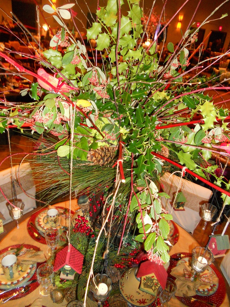 Christmas Table Decorations Joy To The World Pinterest