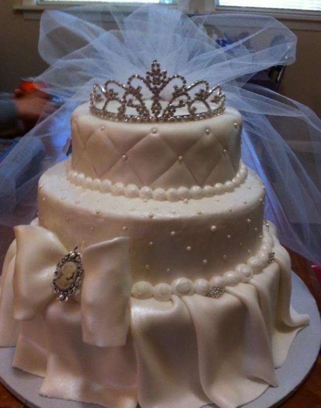 Images Of Cake For Bridal Shower : Bridal shower cake Cakes and crafts Pinterest