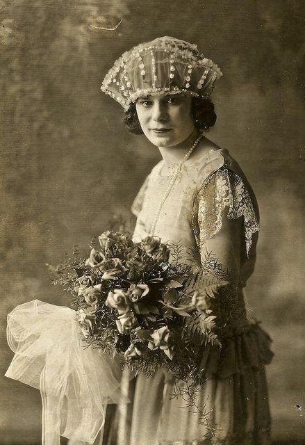 Mariée, c. Années 1920.