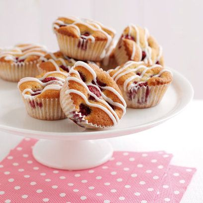 Raspberry iced fancies Fresh, fruity and very easy to make. These ...