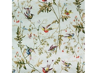 cole son hummingbird fabric wallpaper pinterest