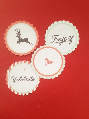 GOOD ON PAPER - Free printables - Vintage Deer Party Circle Tags