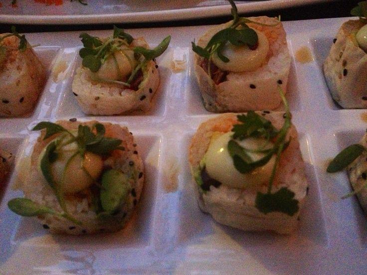 in Old Town Hope Roll Shrimp tempura, spicy crab, avocado, seared tuna ...