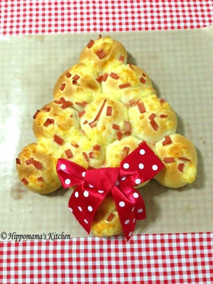 Christmas Tree Bread | Breads | Pinterest