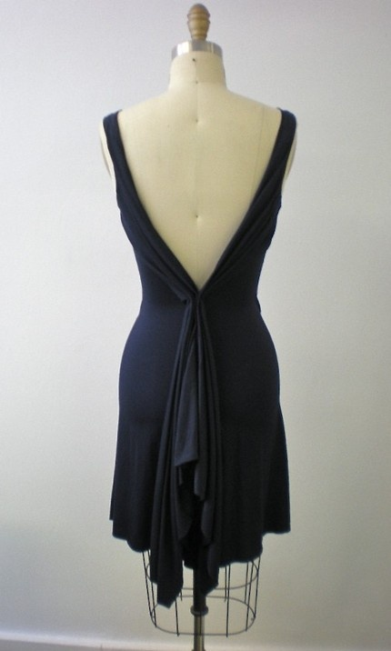 Dance gorgeous black dress!