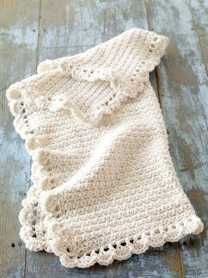 Free Crochet Pattern: Crochet Baby Blankie