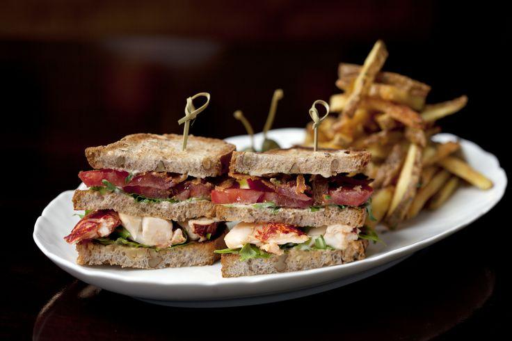 Warm lobster club sandwich | CUT at 45 Park Lane | Pinterest