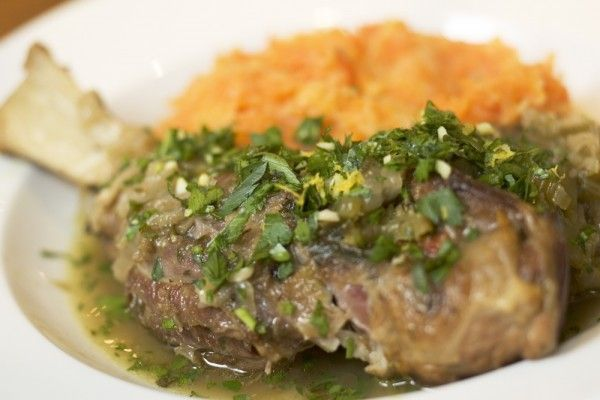 Lamb Shanks with Potato and Carrot Mash | Favorite Recipes | Pinterest