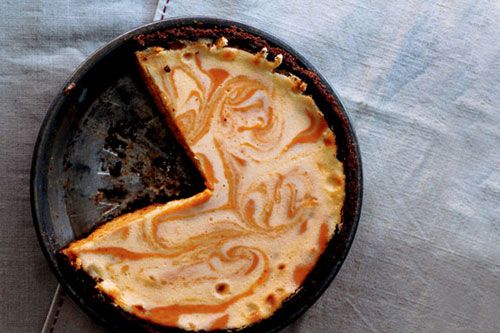 Pumpkin Ginger Cheesecake Pie   Say Cheese-cake!   Pinterest