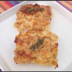 Parsnip Gratin by monica | Foods To Try | Pinterest