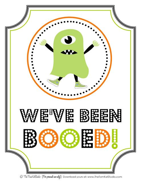 The TomKat Studio: {Halloween} Free Printable BOO Sign & Instructions!